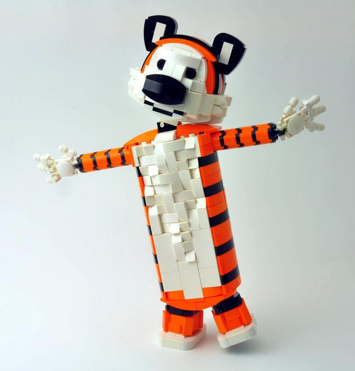 Simon Liu's Lego Hobbes
