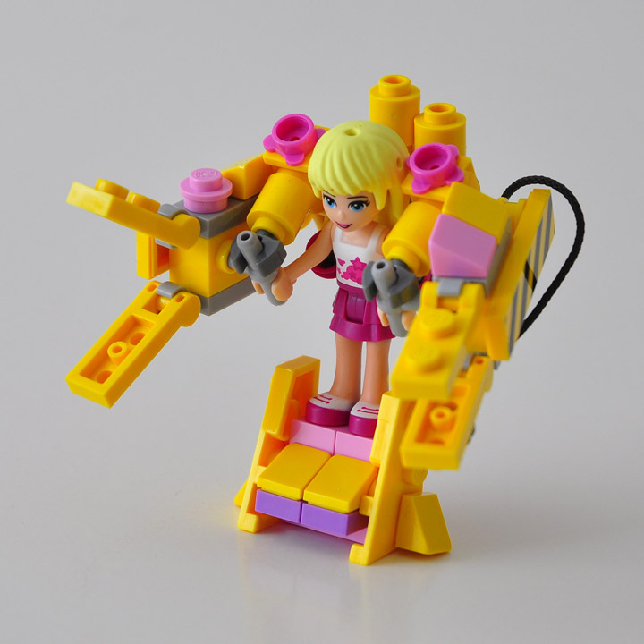 Simon Liu's Lego Friends Power Loader