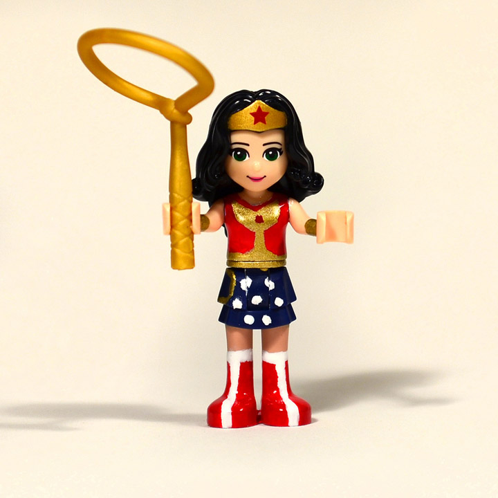 tikitikitembo's Lego Friends Wonder Woman