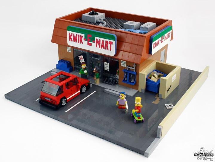 6kyubi6's Lego Simpsons Kwik-E-Mart