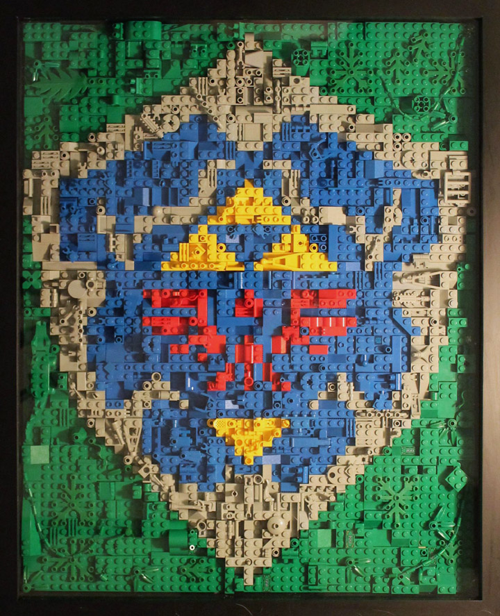Briotr's Lego Legend Of Zelda Link's Hylian Shield
