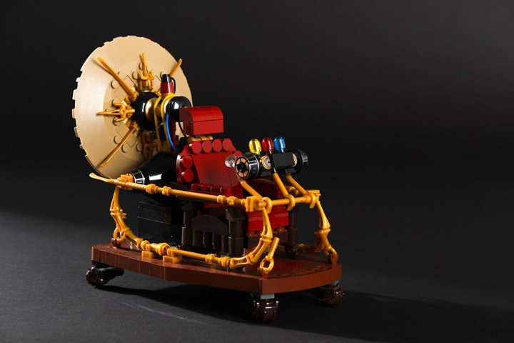 Carl Merriam's Lego The Time Machine
