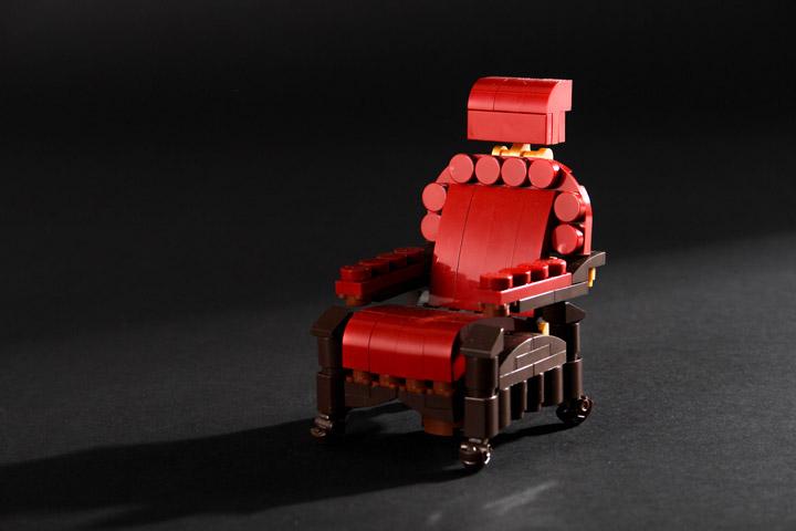Carl Merriam's Lego The Time Machine Chair
