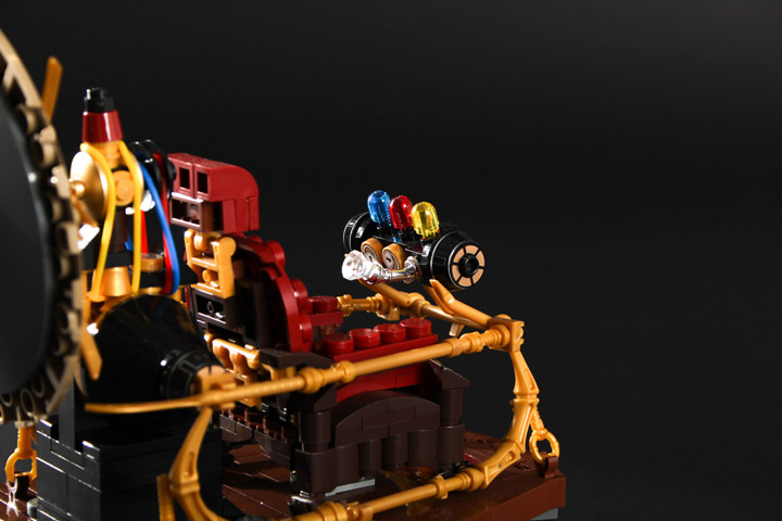 Carl Merriam's Lego The Time Machine Detail