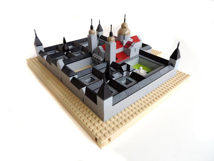 Gabriel Riutort's Lego Architecture Monasterio De El Escorial