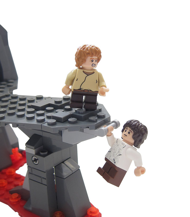 Graham Gidman's Lego Lord Of The Rings, Mt Doom
