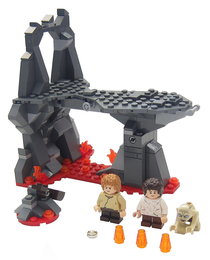 Graham Gidman's Lego Lord Of The Rings, Mount Doom Set