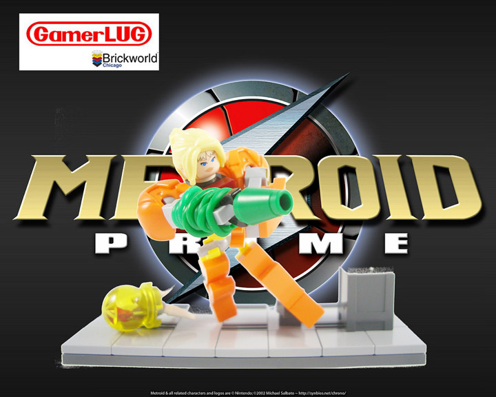Jared If only I remembered, Lego Metroid Prime, Samus Aran
