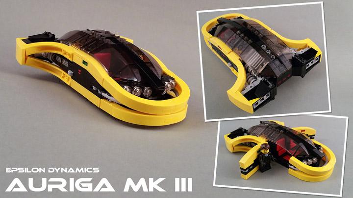 Jerac's Lego Auriga MK III Speeder