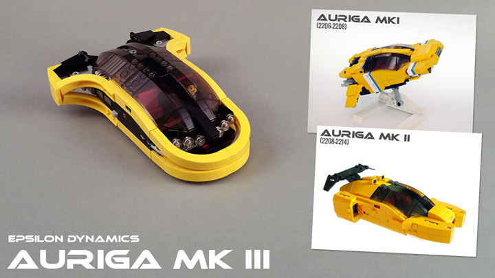 Jerac's Lego Auriga Speeder