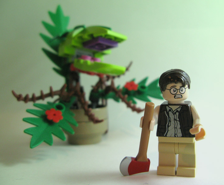 Feed Me Seymour A Little Shop Of Horrors Lego Moc
