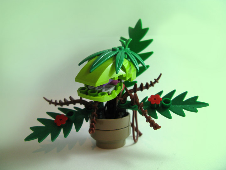 Jordan Schwartz Lego The Little Shop Of Horrors Audrey II