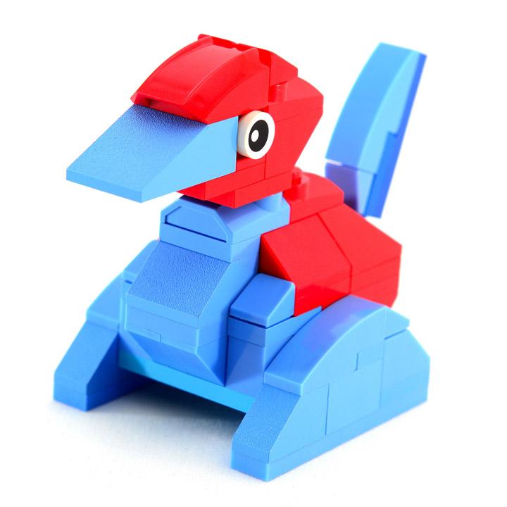 Julius von Brunk's Lego Pokemon Porygon
