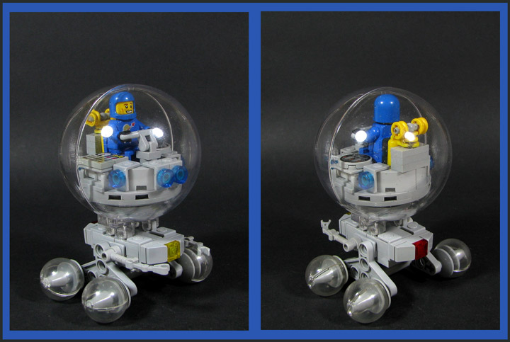 Karf Oohlu's Lego Space The Crystal Voyager