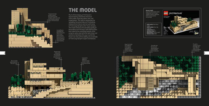 Lego Architecture The Visual Guide Book Detail