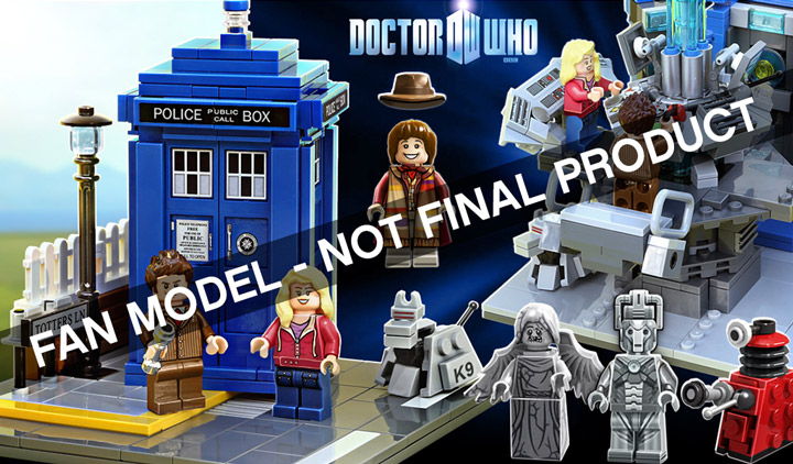 Lego Ideas Second 2014 Doctor Who