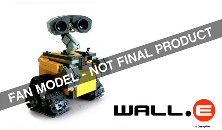 Lego Ideas Second 2014 Wall-E