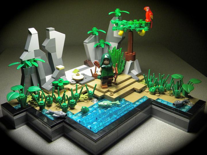 Nexus Lego Green Arrow Stranded