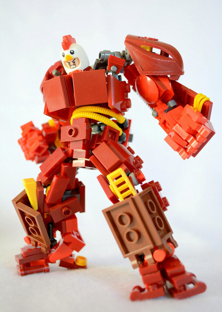 Peter C's Lego Chicken Buster