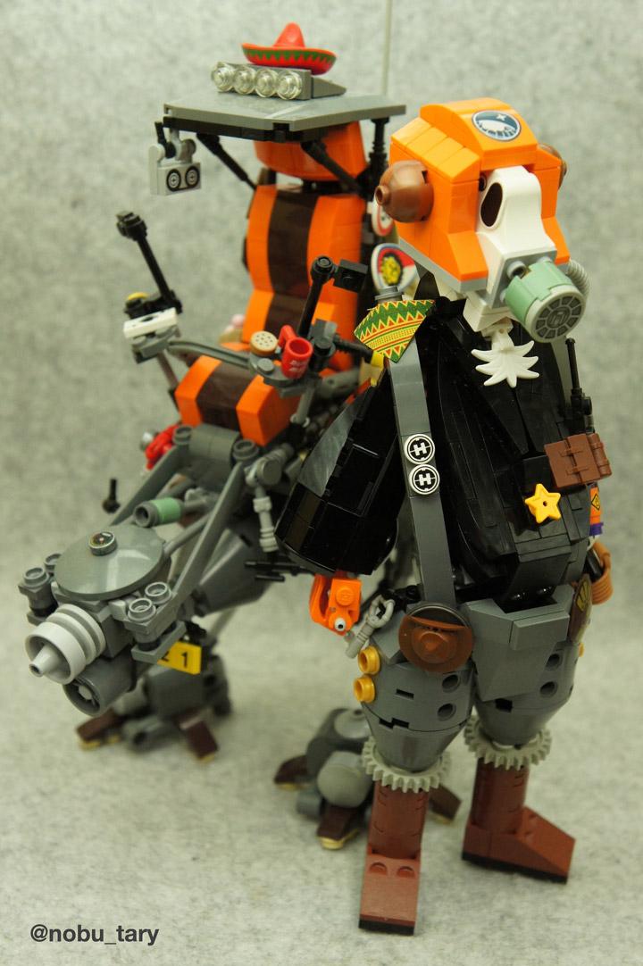 nobu_tary's Lego Walker Mech Y-3 Team