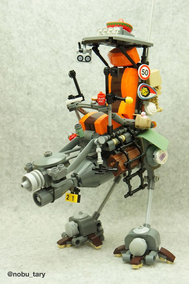 nobu_tary's Lego Walker Mech Y-3