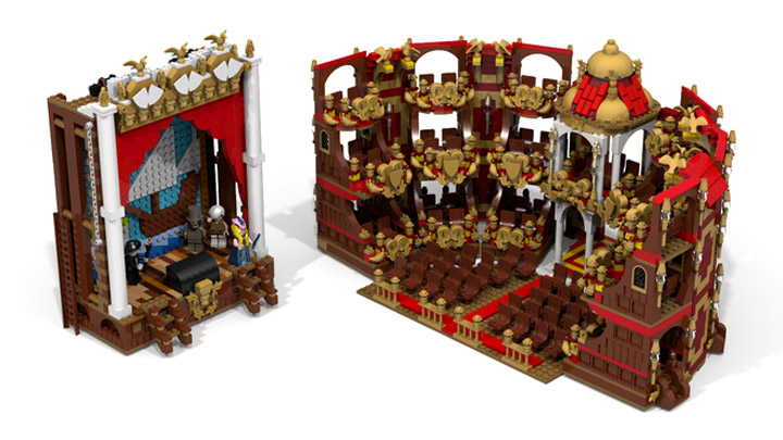reekardoo's Lego Phantom Of The Opera Set