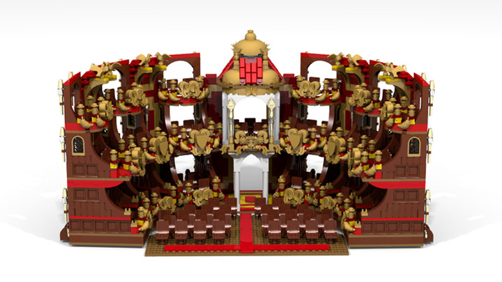 reekardoo's Lego Phantom Of The Opera Theatre