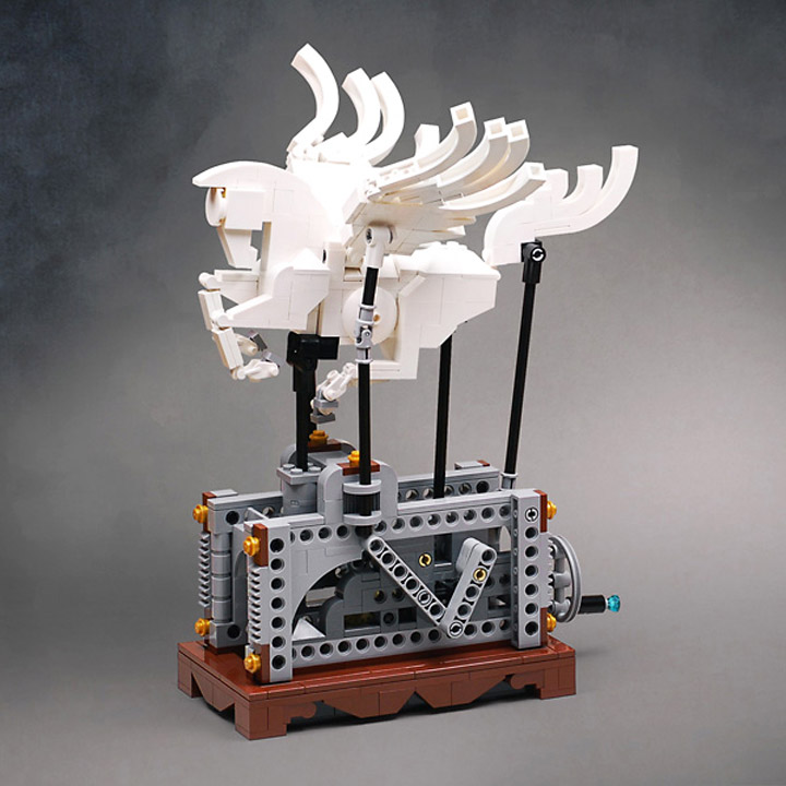Amida's Lego Pegasus Automaton 01