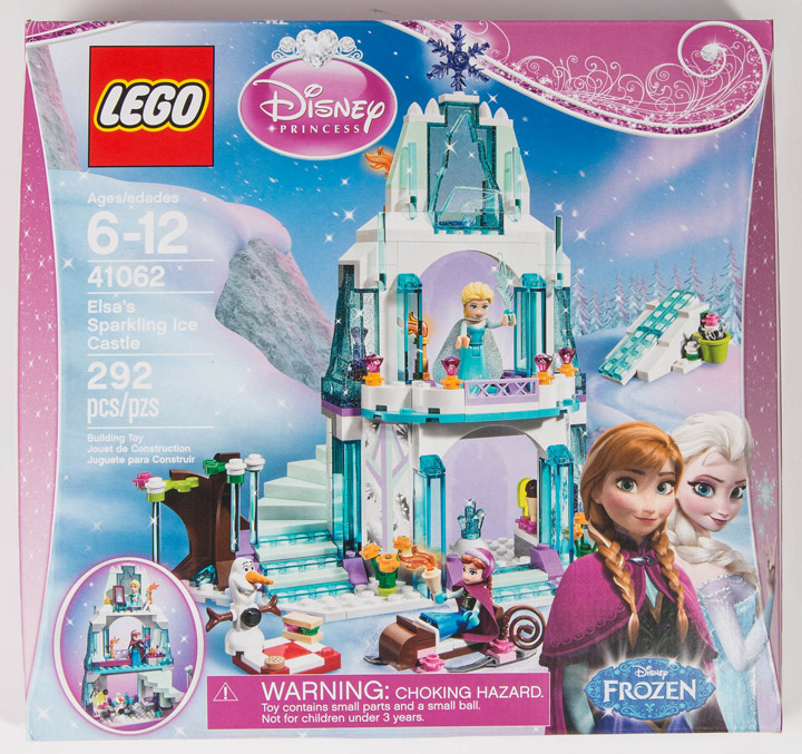 Lego Frozen: Elsa's Sparkling Ice Castle 41062 Box Reviewed, mostlytechnic