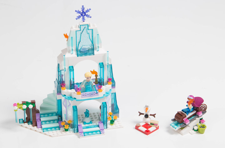 Lego Frozen: Elsa's Sparkling Ice Castle 41062 Set Reviewed, mostlytechnic