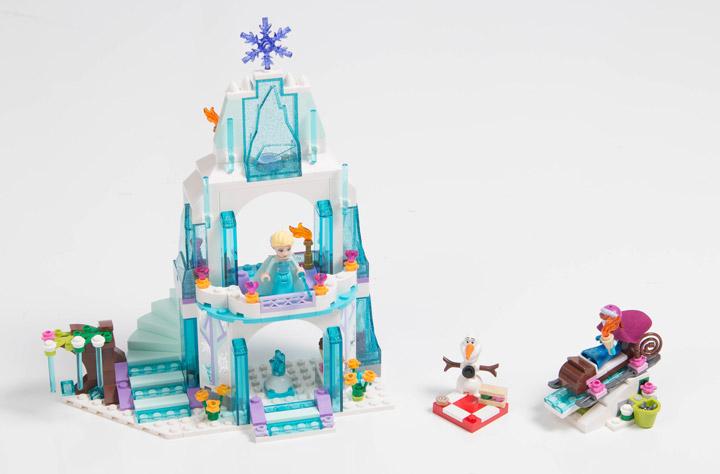 Lego Frozen: Elsa's Sparkling Ice Castle 41062 Set Reviewed, mostlytechnic