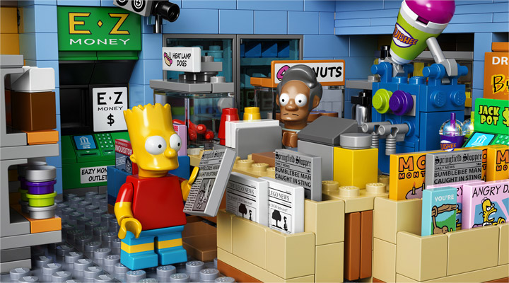 Lego The Simpsons Kwik-E-Mart 71016 Apu