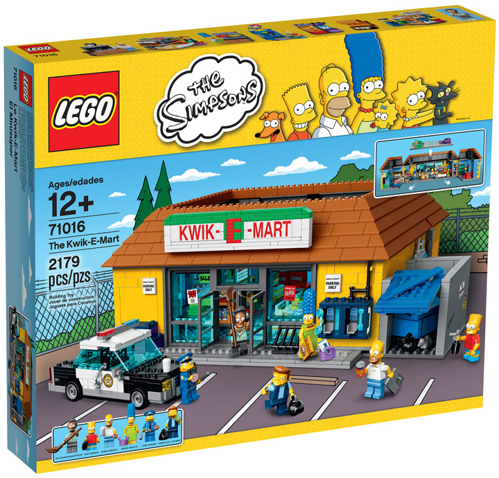 Lego The Simpsons Kwik-E-Mart 71016 Box