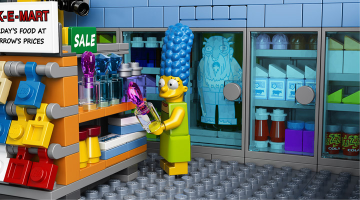 Lego The Simpsons Kwik-E-Mart 71016 Jasper