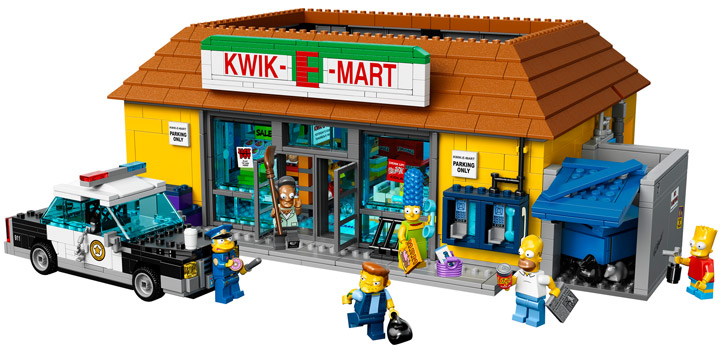 Lego The Simpsons Kwik-E-Mart 71016 Set