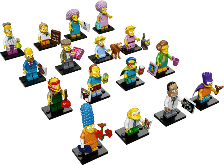 Lego The Simpsons Minifigures Series 2 71009