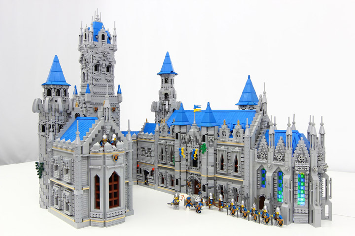 PockyLU Lego Blue Lion Castle