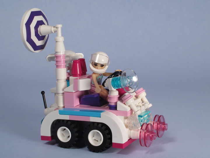 Tyler Sky's Lego Friends Adventure Moon Rover