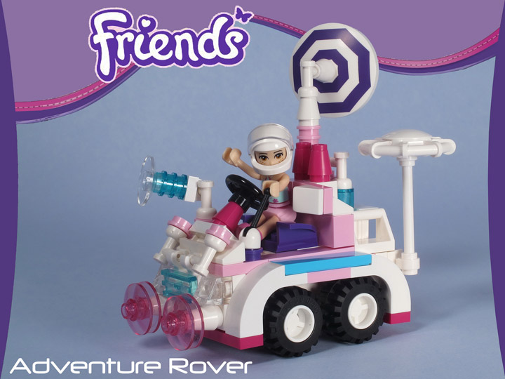 Tyler Sky's Lego Friends Adventure Space Rover