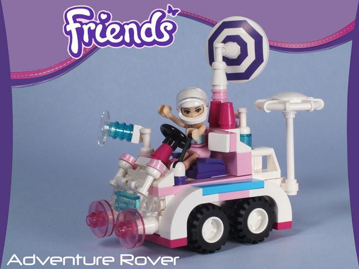 Tyler Sky's Lego Friends Adventure Space Rover