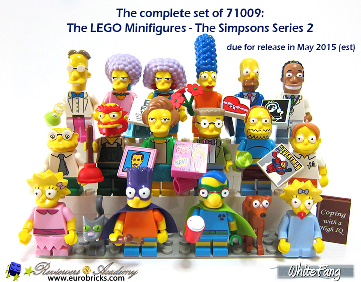 WhiteFang's Lego The Simpsons Series 2 Review