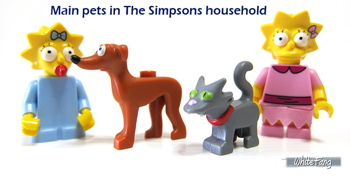 WhiteFang's Lego The Simpsons Series 2 Review Pets