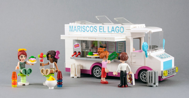 Lego Friends Food Ideas