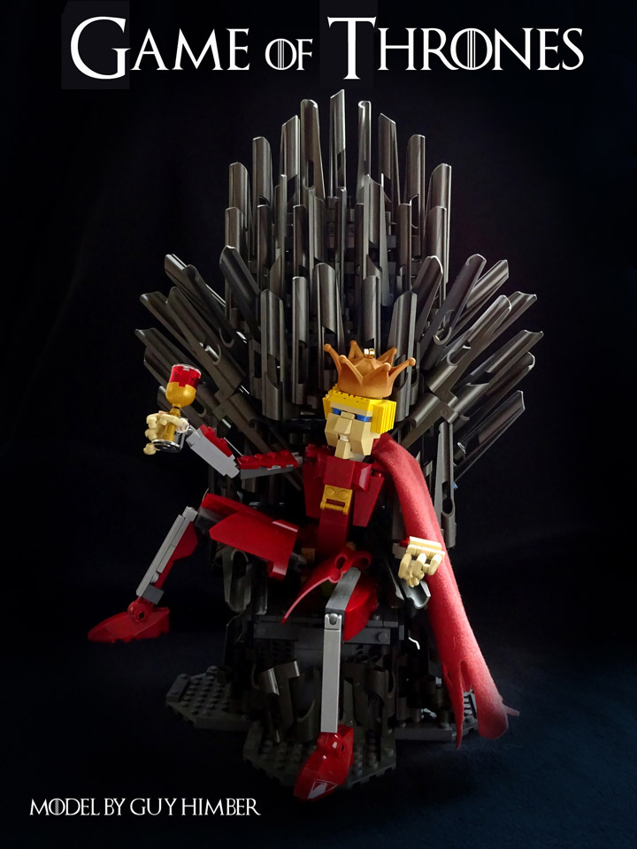 Lego Game of Thrones. King Joffrey, Long may he Reign!