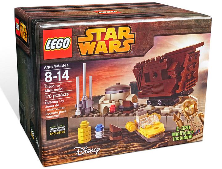 Lego Star Wars, Tatooine Mini Build