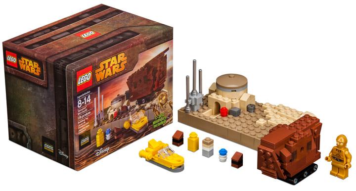 Lego Star Wars, Tatooine Mini Build. Star Wars Celebration 2015