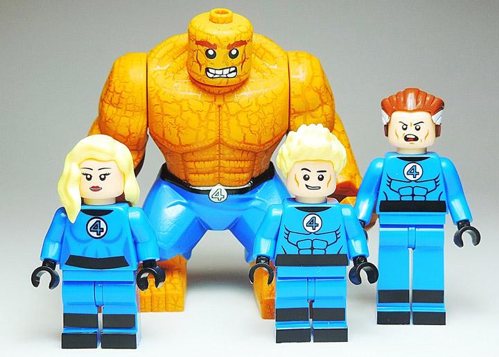 Misha Mishin's Lego Fantastic Four