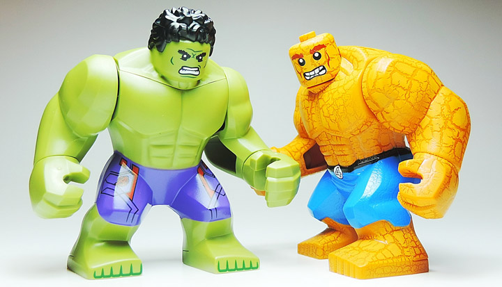 Misha Mishin's Lego The Hulk and The Thing
