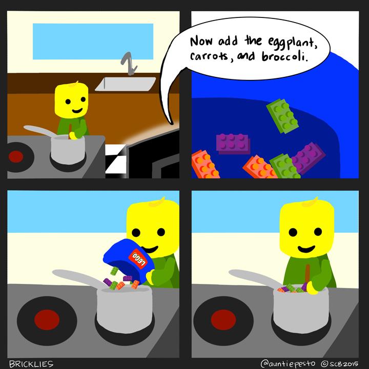 Bricklies: Lego Chef