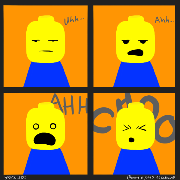 Bricklies: Lego Sneeze
